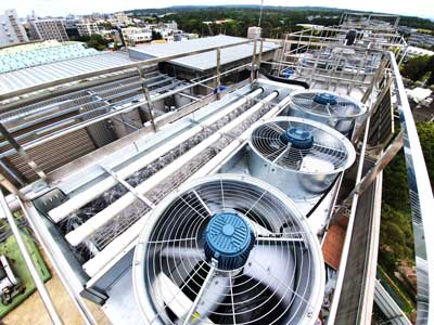 How to increase cooling tower efficiency?