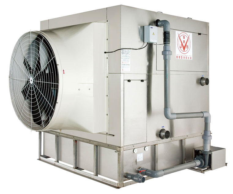 Stainless Steel SCT-100 (300000 Kcal/h) Closed Circuit Cooling Tower