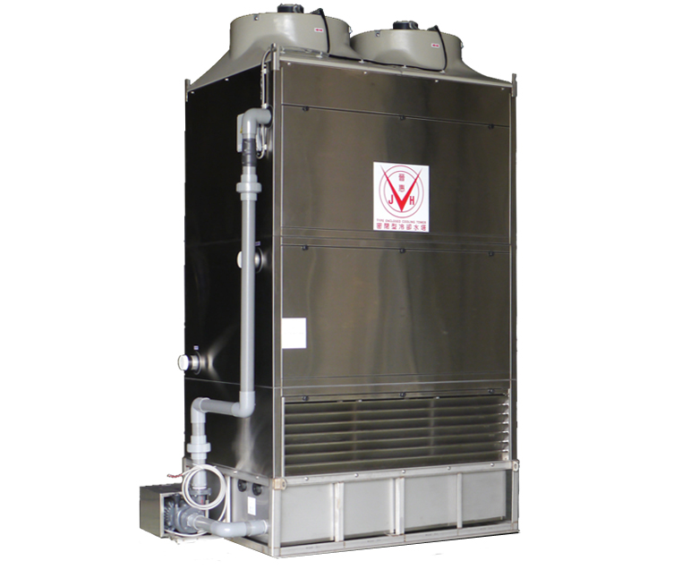 Closed circuit cooling tower series